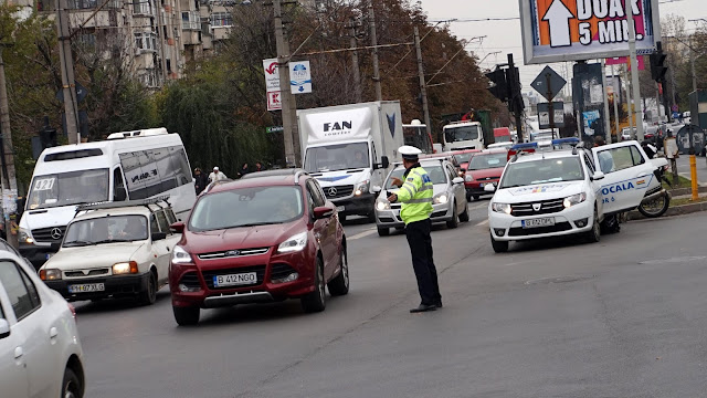 politist in trafic - info drumul taberei