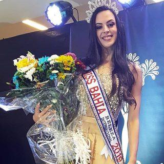 Moradora de Cruz das Almas é eleita Miss Bahia – Beleza Internacional 2019