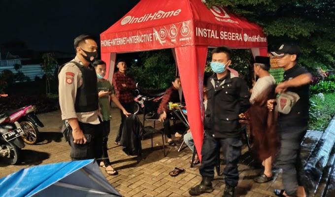 Jajaran Polsek Cipocok Jaya Gelar Patroli Dialogis dan Beri Himbauan Prokes kepada Masyarakat