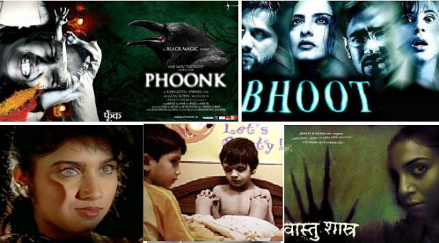 Top 10 Ram Gopal Varma Horror Movies List