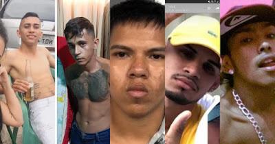 Foto dos fugitivos