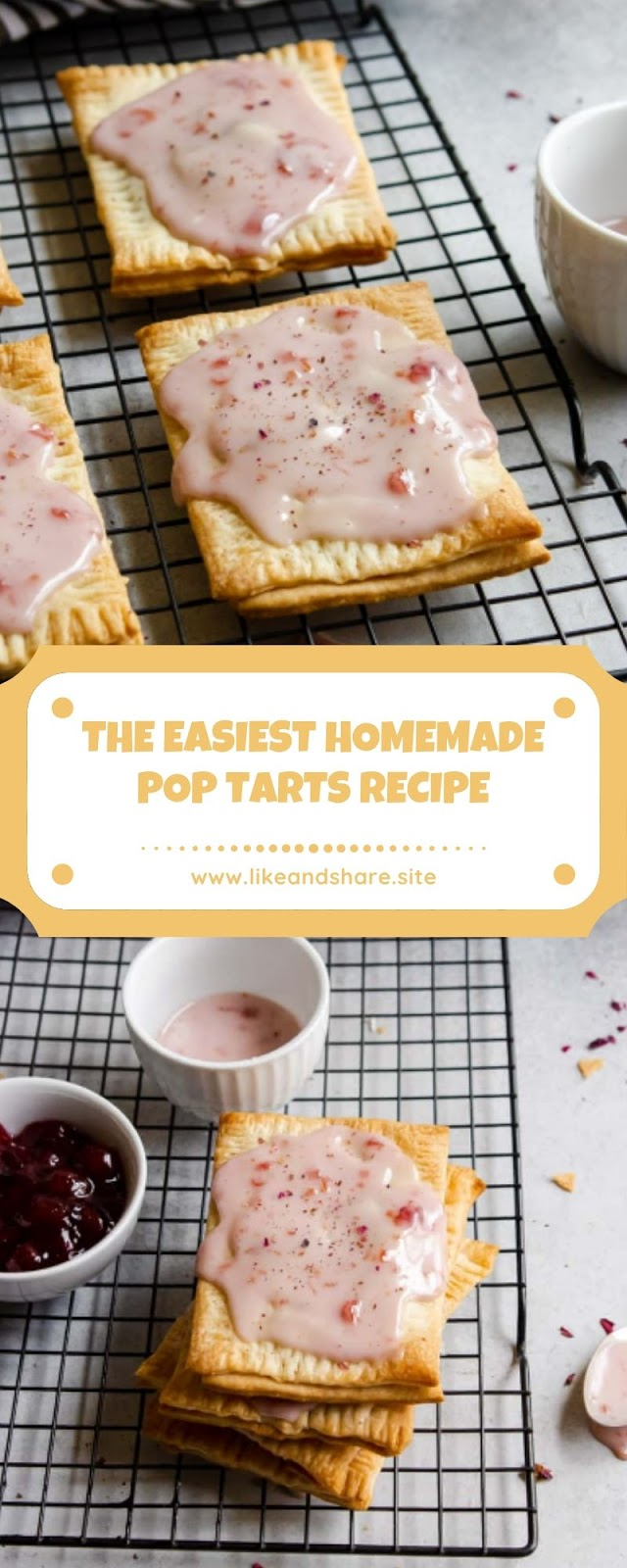 THE EASIEST HOMEMADE POP TARTS RECIPE