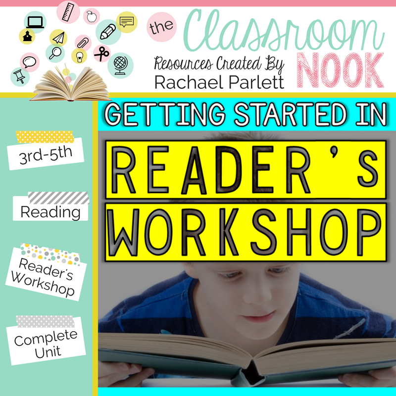 Check out this entire unit on how to launch reader's workshop in your classroom at the beginning of the school year