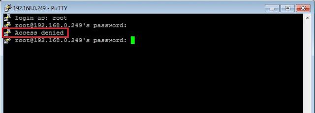 Cara Setting SSH di Centos 8 Server