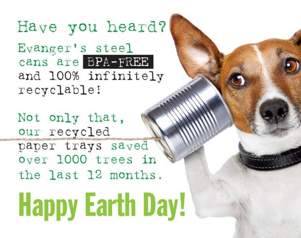 Evanger's Earth Day