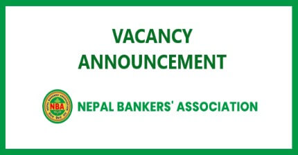 Vacancy Announcement from Nepal Bankers' Association