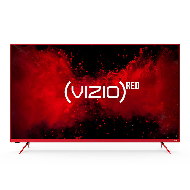 "VIZIO Continues Support for (RED) with Special Edition (VIZIO)RED M-Series Quantum 50"" Class 4K HDR Smart TV and (RED) Remote"