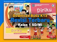 Download Buku K13 Revisi Terbaru Kelas 1 SD/MI Semester 2 (2020)