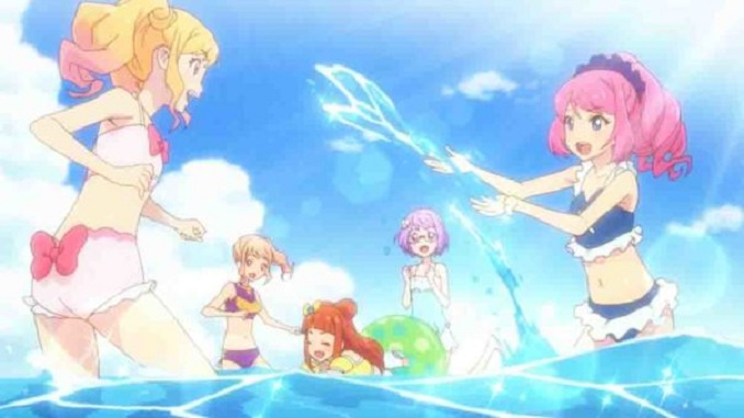 Aikatsu Stars! Movie Movie dari anime Aikatsu Stars ini terletak di pulau selatan , tempat Audition Dress Legendaris sedang berlangsung . Nijino Yume dan yang lainnya harus menemukan gaun rahasia yang disembunyikan di suatu tempat di pulau itu