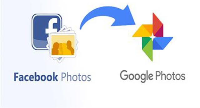 و أخيرا يمكنك نقل الصور و الفيديوهات الخاصة بك من الفيسبوك إلى حسابك في google photo