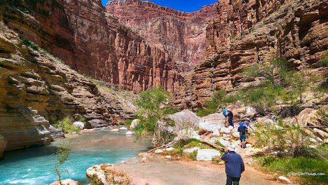 Geology travel rafting Grand Canyon National Park Arizona copyright RocDocTravel.com