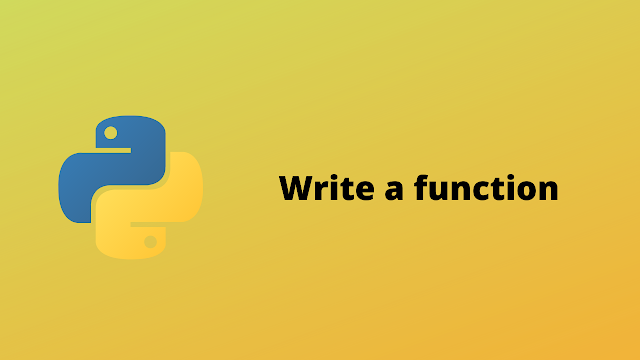 HackerRank Write a function solution in python