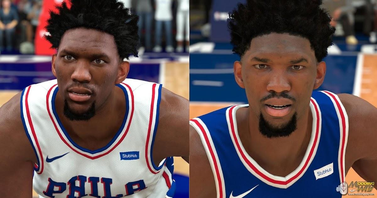 NBA 2K18 Joel Embiid Cyberface by Rageed - DNA Of ...