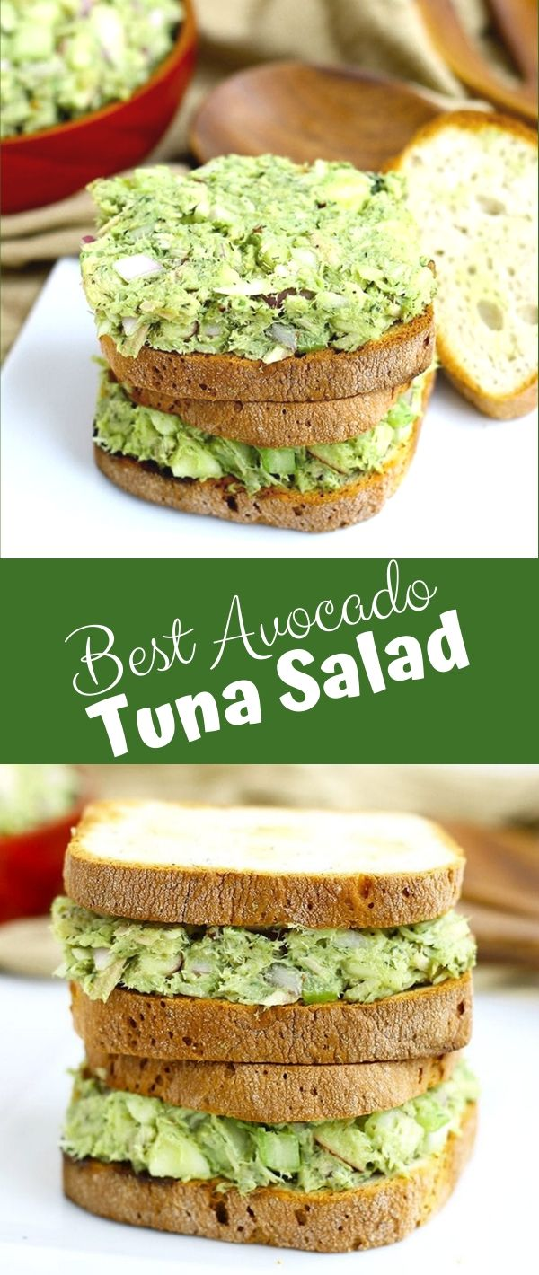 Best Avocado Tuna Salad #Best #Avocado #Tuna #Salad Healthy Recipes For Weight Loss, Healthy Recipes Easy, Healthy Recipes Dinner, Healthy Recipes Best,