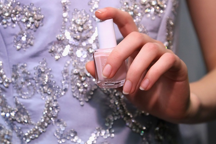 NYFW Fall/Winter 2016 nail trends Oscar de la Renta