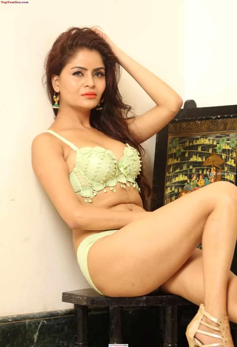 Gehana Vasisth sexy Bikini, Lingerie Photoshoot Images