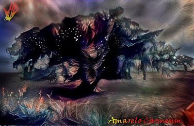 Figueira no mato raízes no inferno