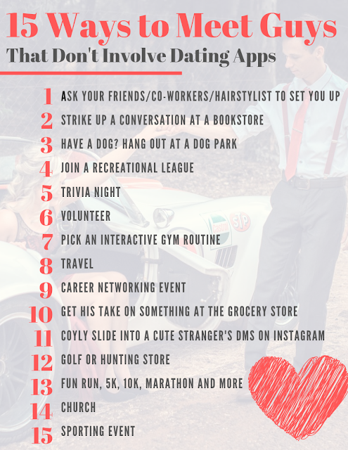 15 Ways to Meet Guys That Don't Involve Dating Apps