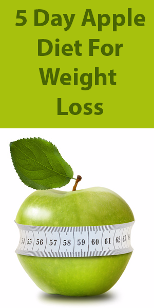 5 Day Apple Diet for Weight Loss