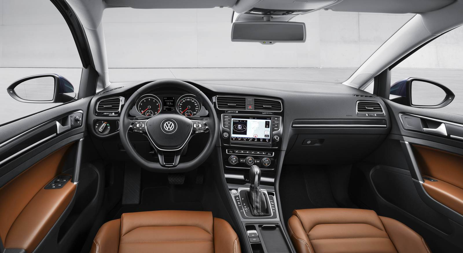 VW Golf 2013 - interior