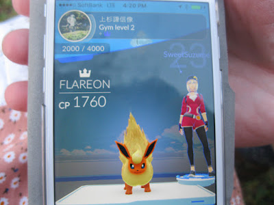 Gym Leader at Kasugayama Castle.