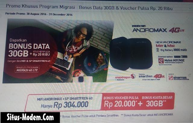 Masih Juga Internetan di Jaringan EVDO ? Segera Lakukan Migrasi ke 4G LTE Smartfren dan Dapatkan Bonus Ini !!!