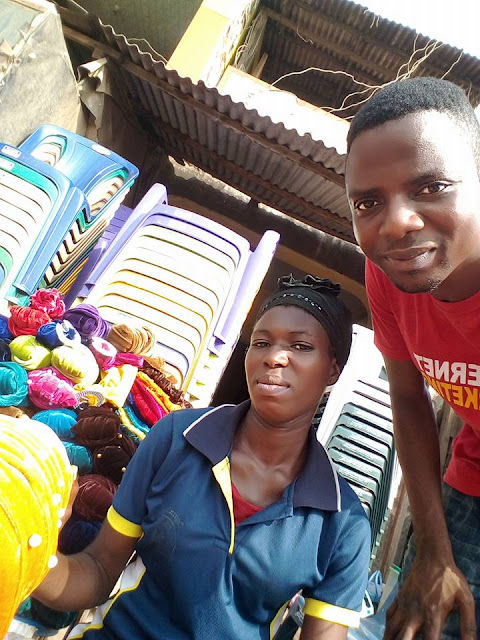 Internet Marketer James Adeshina Proves That He is Truly The Unselfish CEO As He Introduce A Market Woman Into Internet Marketing