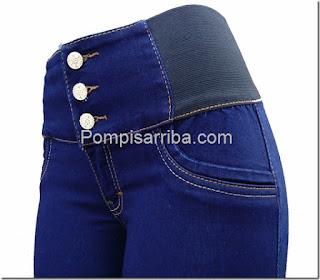 Pantalone colombiano baratos Jeans levanta pompis de mayoreo