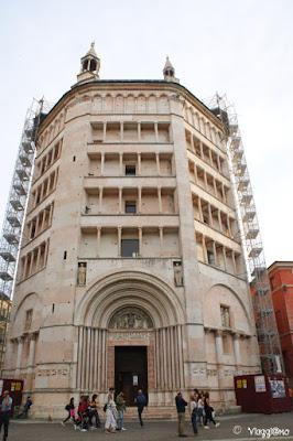 Il Battistero di Parma, uno dei simboli della città