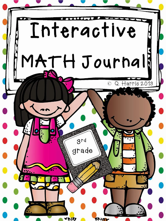 Interactive Math Notebook for 3rd Grade