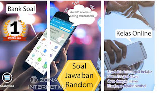Soal Online - Bank Soal SD, SMP, SMA/K, PT, CPNS