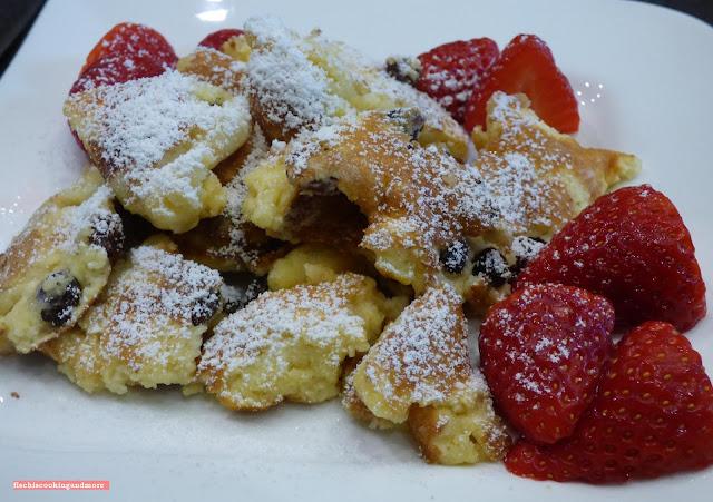 fischiscooking, kaiserschmarrn, erdbeeren
