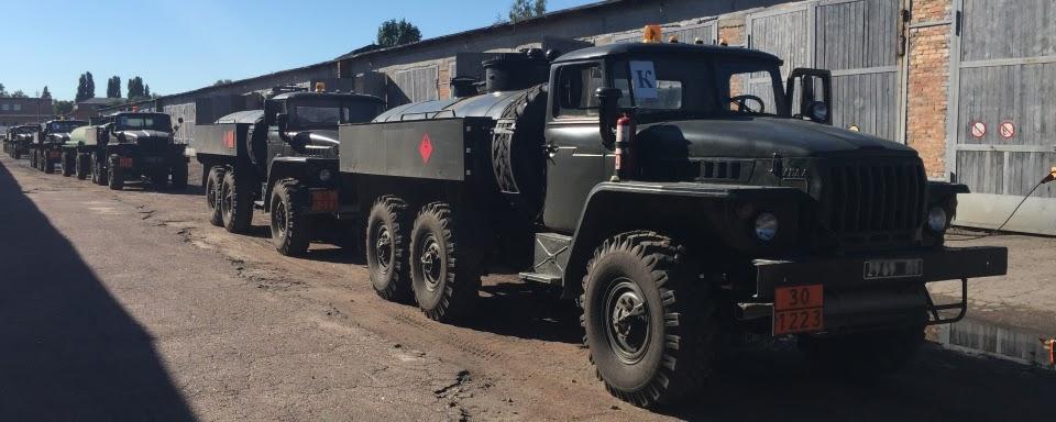 104-а автомобільна бригада відзначила 28-у річницю