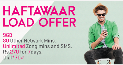 Zong Weekly Load Offer