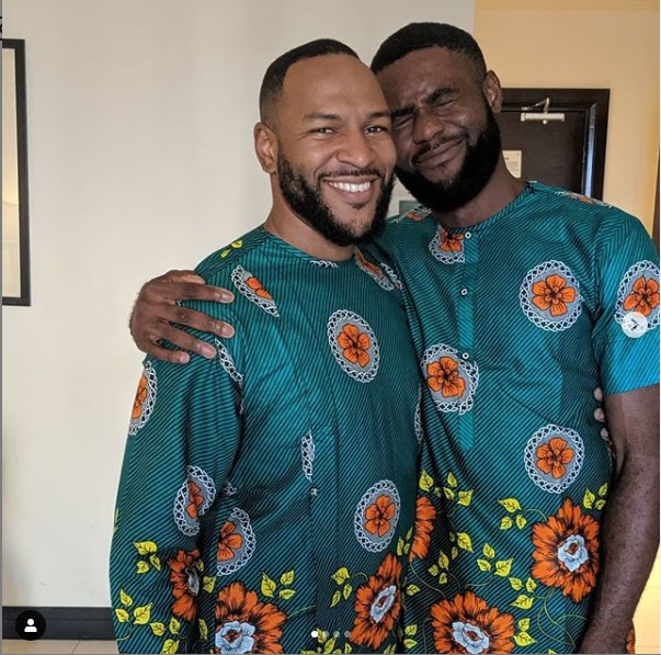 'All I need is you in my life' - Nigerian lawyer, Richard Ogubuike gets a lovely poem from his American gay lover (See Photos)