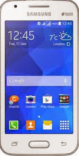 cara flash Samsung Galaxy V Dual SIM G313