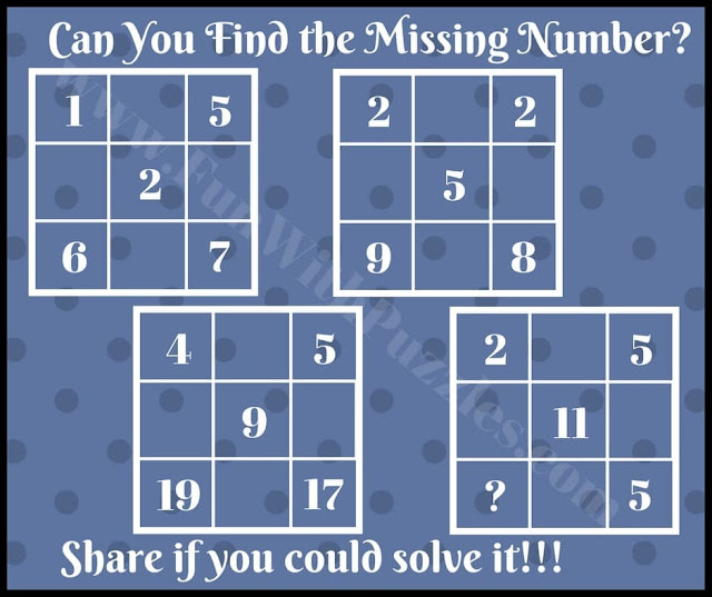 Can you Find the Missing Number in this Brain Teaser?