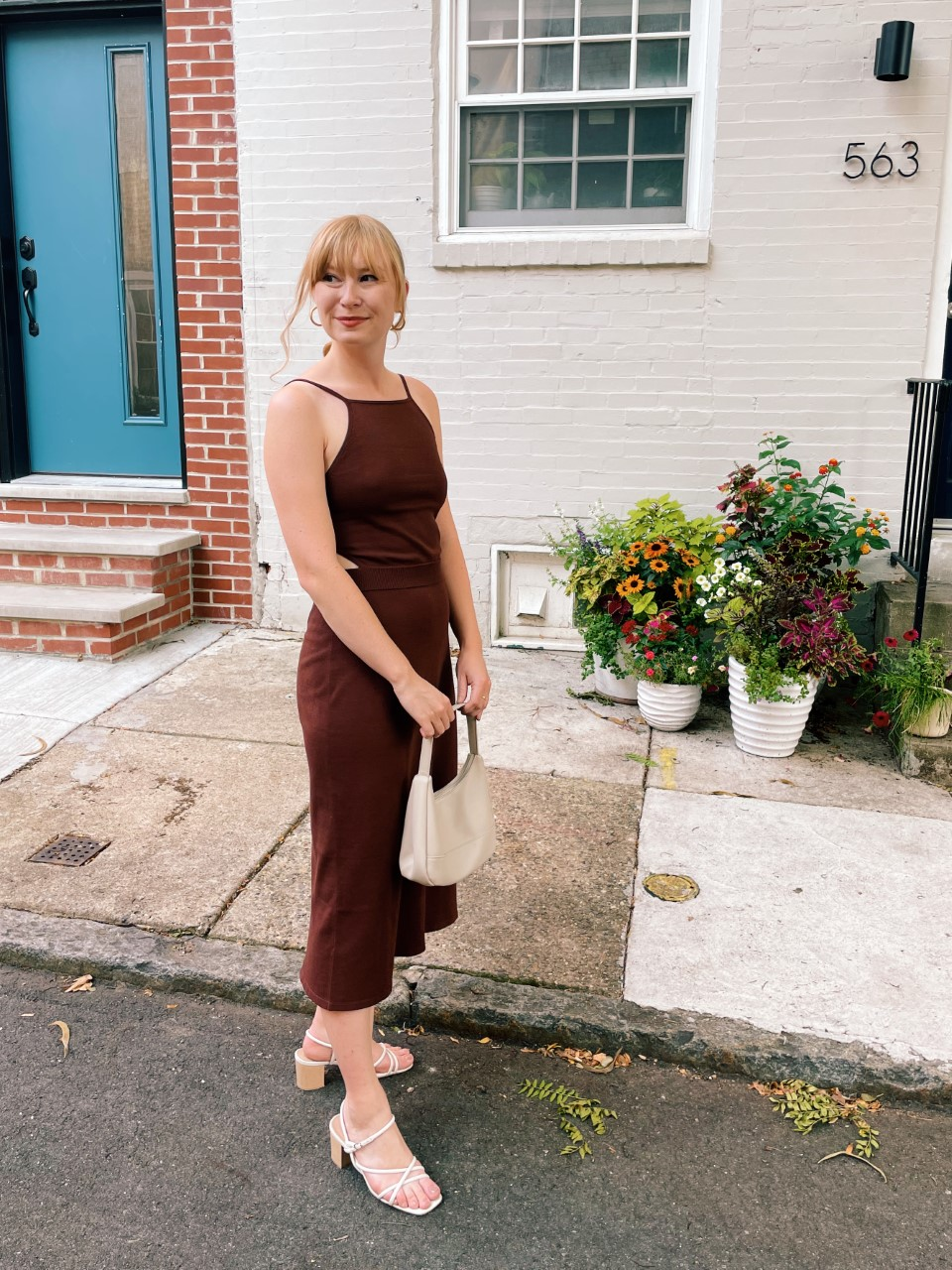 Styling a Knit Midi Dress for Date Night   Organized Mess