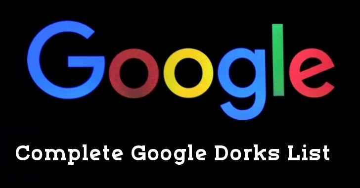 Google Dorks