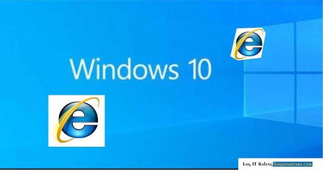 Cara Mematikan Internet Explorer di Windows 10