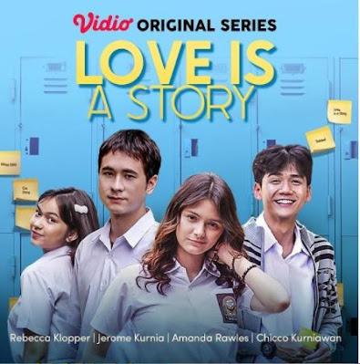 Link Streaming Nonton Love Is A Story Episode 1 Full Movie di Vidio Film Series Terbaru Amanda Rawless Tayang 15 September
