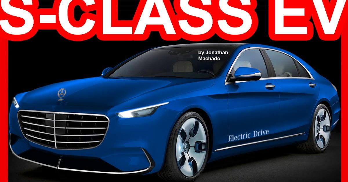 CARWP: PHOTOSHOP 2018 Mercedes-Benz S-CLass EV Electric ...