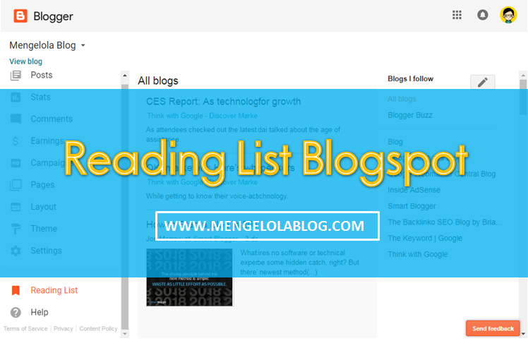 reading list blogspot