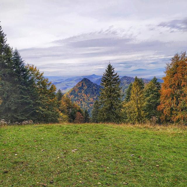 weekend w Pieninach, Trzy Korony, widoki na okolicę