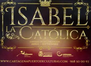 Info de la exposición de Isabel la Catolina, vestuario de la serie. Se podrá visitar hasta septiembre 2019.