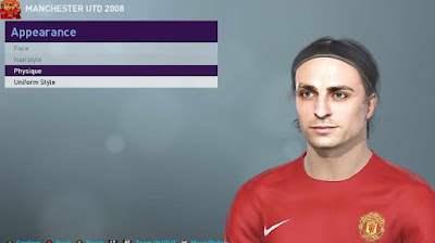 PES 2019 Faces Dimitar Berbatov by by adidaphat2013