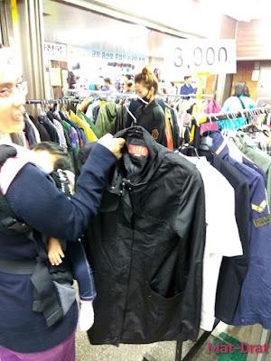 Travelog Percutian ke Busan Kot Murah Baju Sejuk