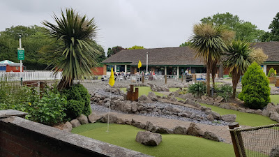 Adventure Golf at Happy Mount Park in Morecambe