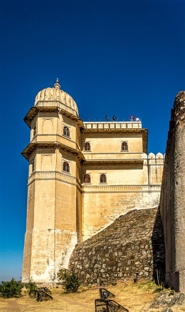 Badal Mahal from outside