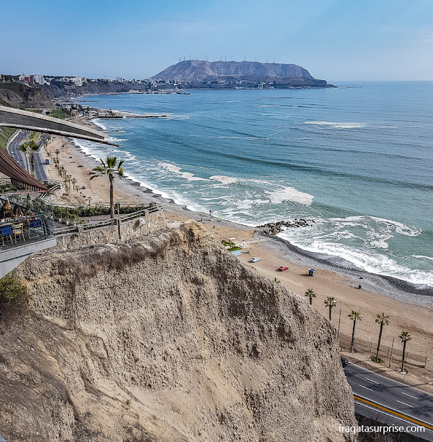 Falésias de Miraflores, Lima, Peru